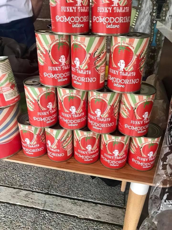 Funky Tomato  le scatole in verticale