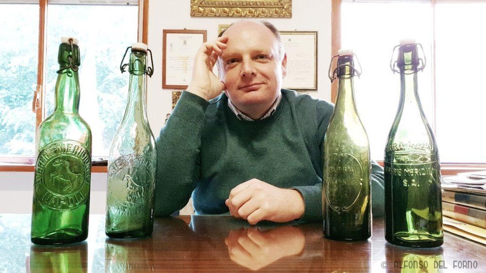 Gaetano Bonelli e le sue bottiglie