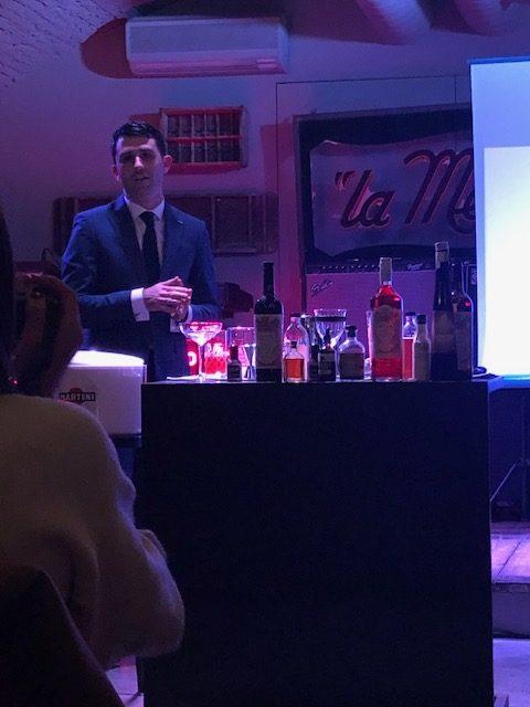 Giorgio Bargiani Senior Mixologist del The Connaught Bar di Londra