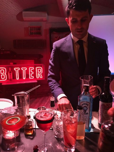 Giorgio Bargiani e i suoi cocktail Connaught Martini,Good Fellas, Wood