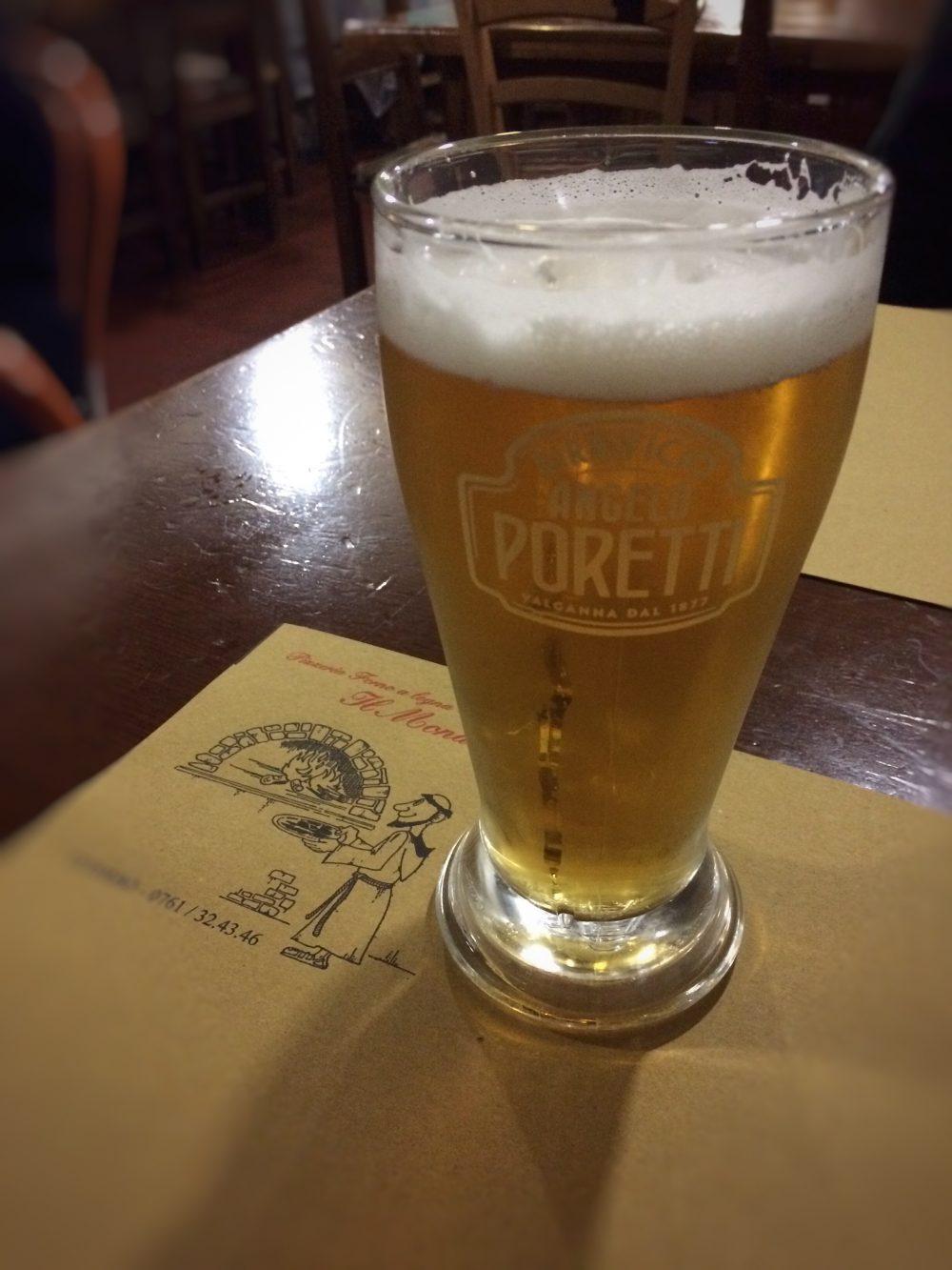 Il Monastero, La birra Poretti chiara