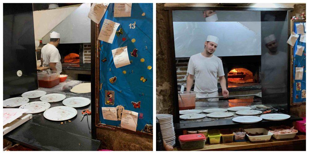 Il Monastero, il forno e i pizzaioli