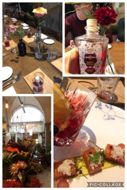 Il Ristorante la Menagere a Firenze ha ospitato Martini Caffe' Torino