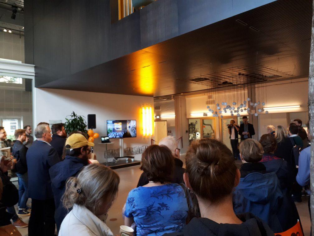 L'inaugurazione del FoodLab allo Skylab