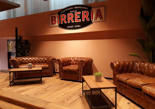La nuova Birreria, arredi