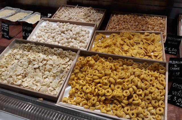 La nuova Gastronomia- la pasta fresca del Pastificio Secondi