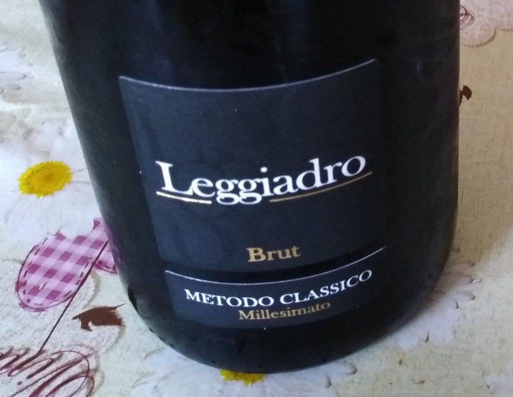 Leggiadro Spumante Bianco Metodo Classico Brut Salento Igt 2014 Produttori di Manduria