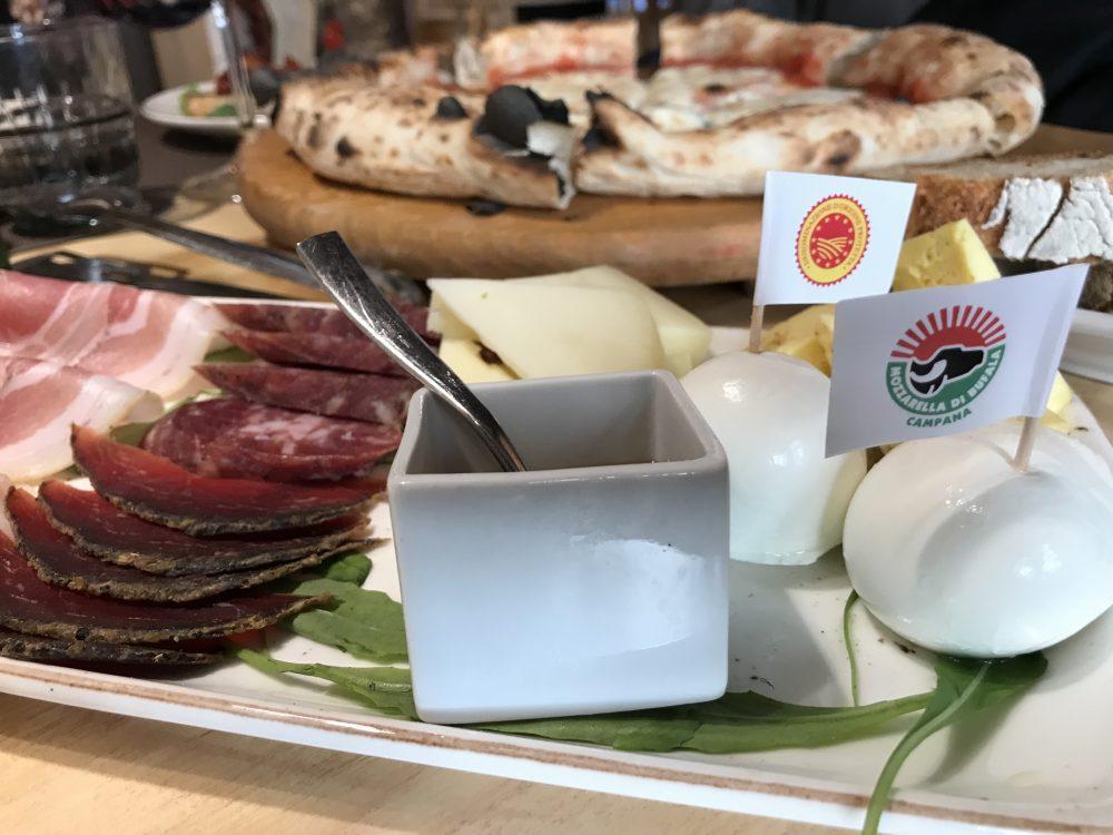 Locanda del Borbone -selezione di salumi e formaggi