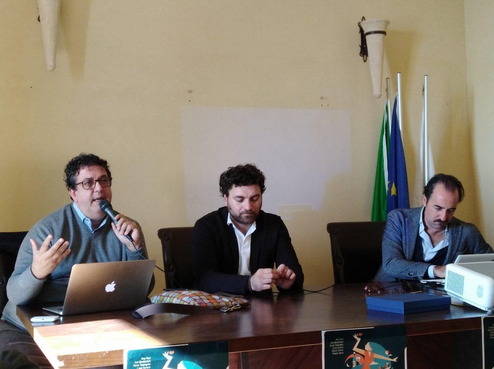 Luciano Pignataro, Valerio Calabrese e Stefano Pisani