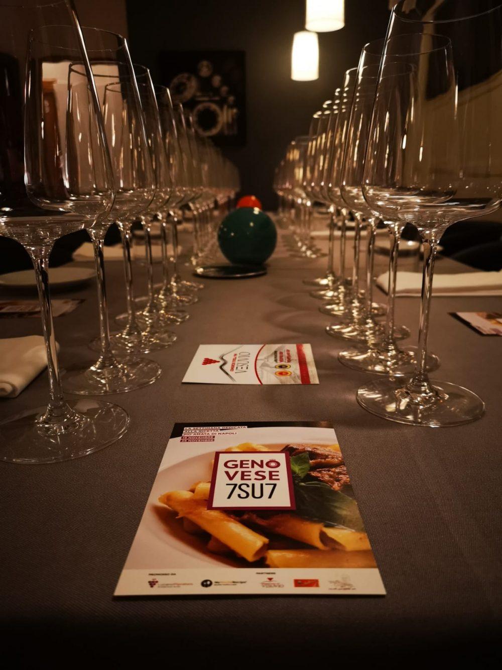MasterClass Genovese7SU7 dedicata al Consorzio Tutela Vini del Vesuvio
