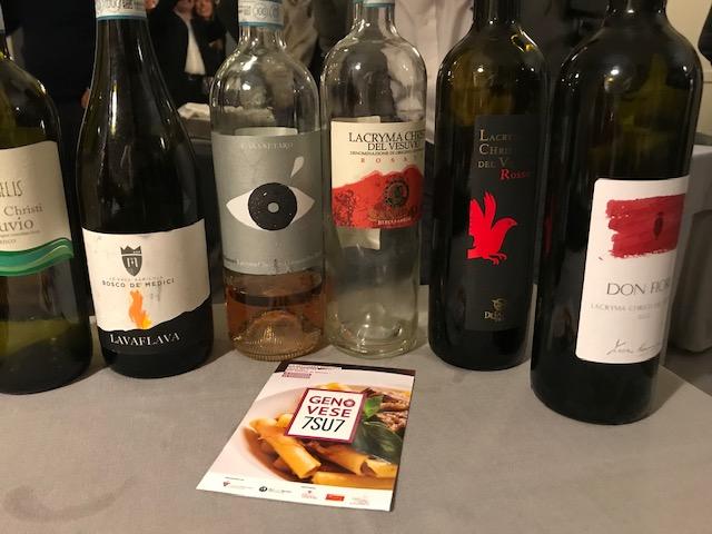MasterClass Genovese7SU7 e i vini Lacryma Christi del Vesuvio