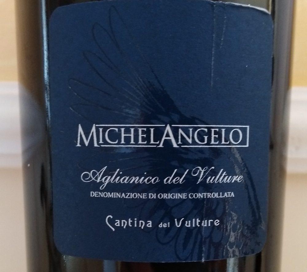 Michelangelo Aglianico del Vulture Doc 2013 Cantina del Vulture
