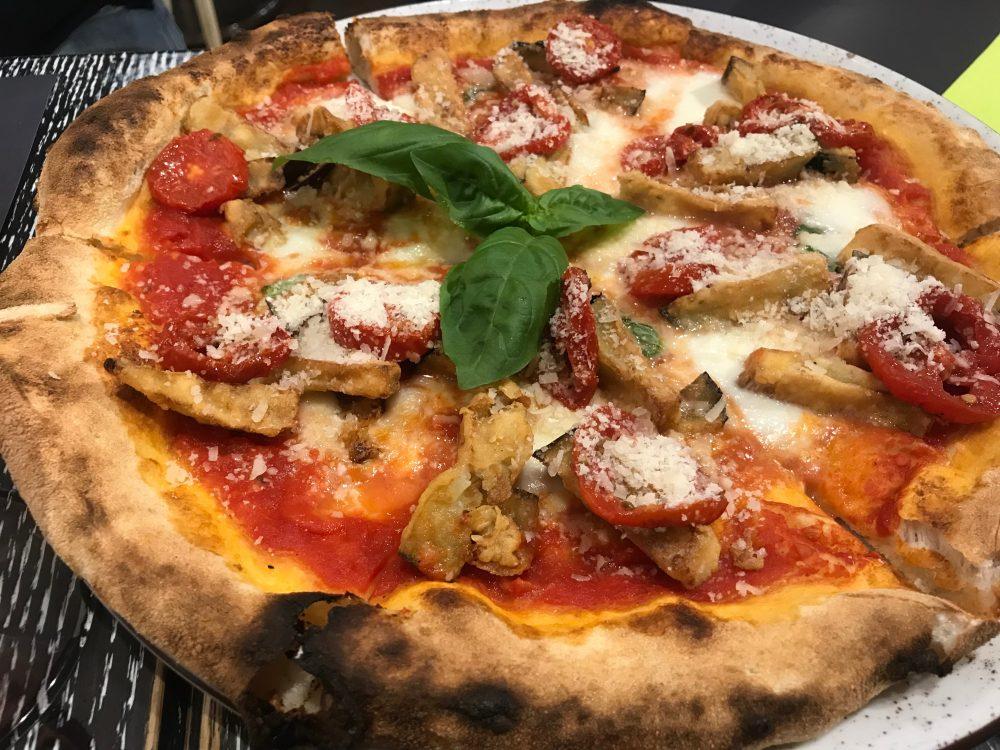 Pizzeria Arrigoni&Basso - tonda alla parmigiana