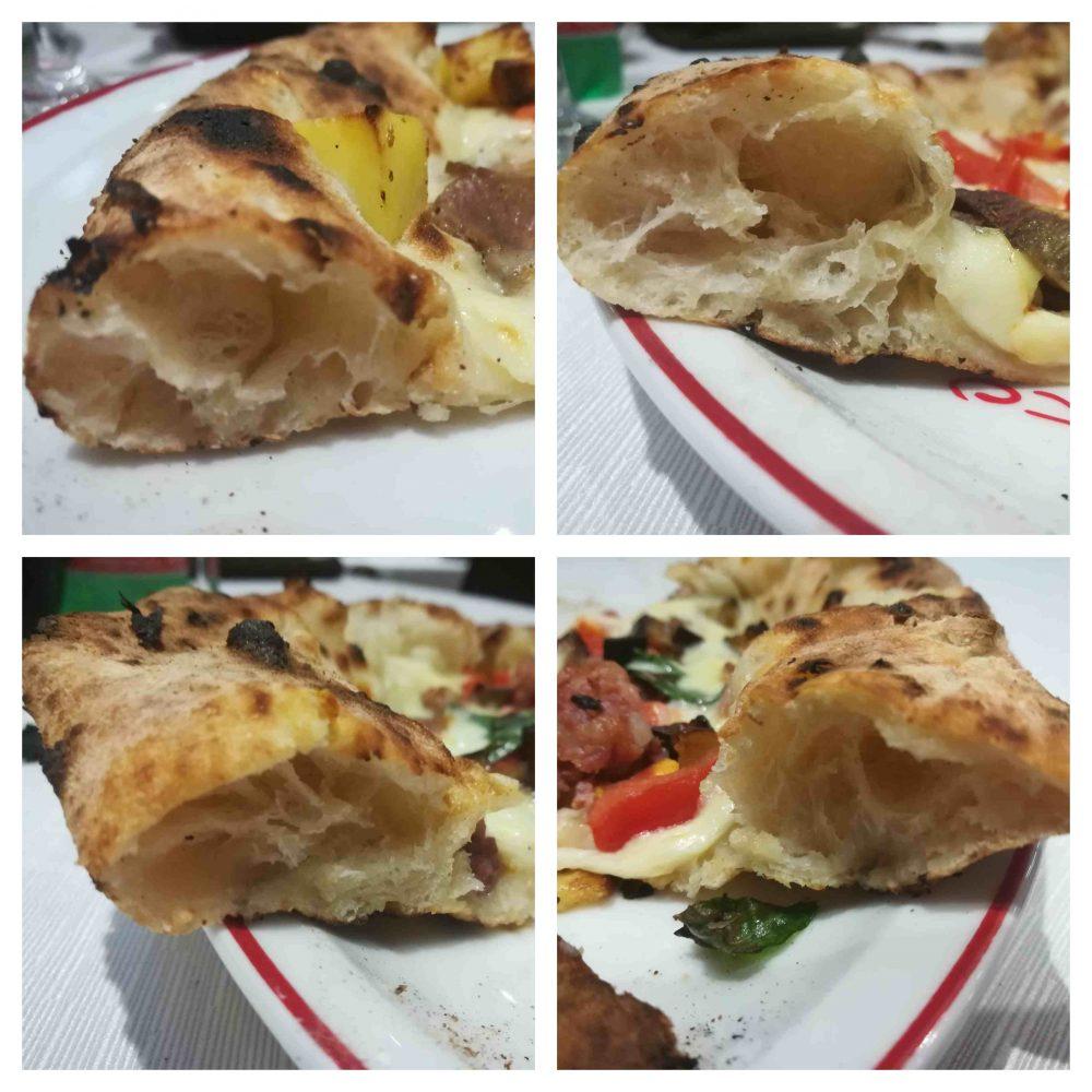 Pizzeria Bella Napoli da Camillo, i cornicioni