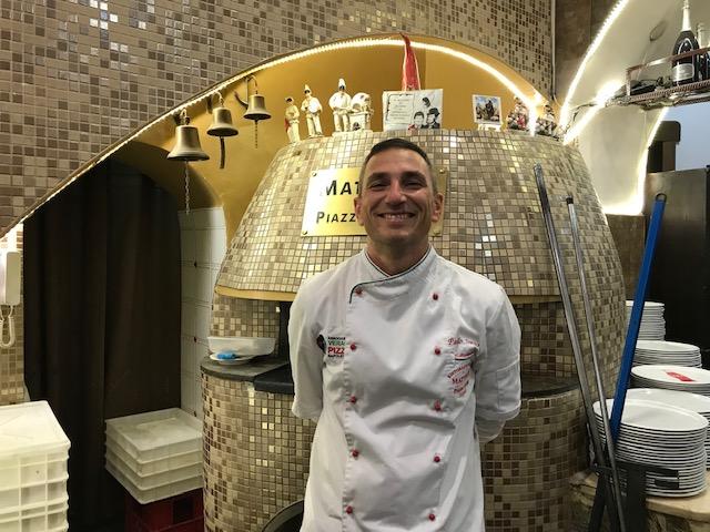 Pizzeria Mattozzi a Pizza Carita' dal 1833 - Paolo Surace