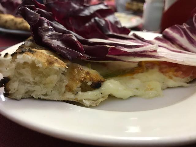 Pizzeria Mattozzi a Pizza Carita' dal 1833 - sezione della verace pizza napoletana