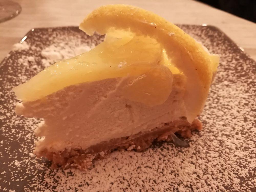 Pizzeria Quattrocento Gradi - La Cheesecake al Limone artigianale