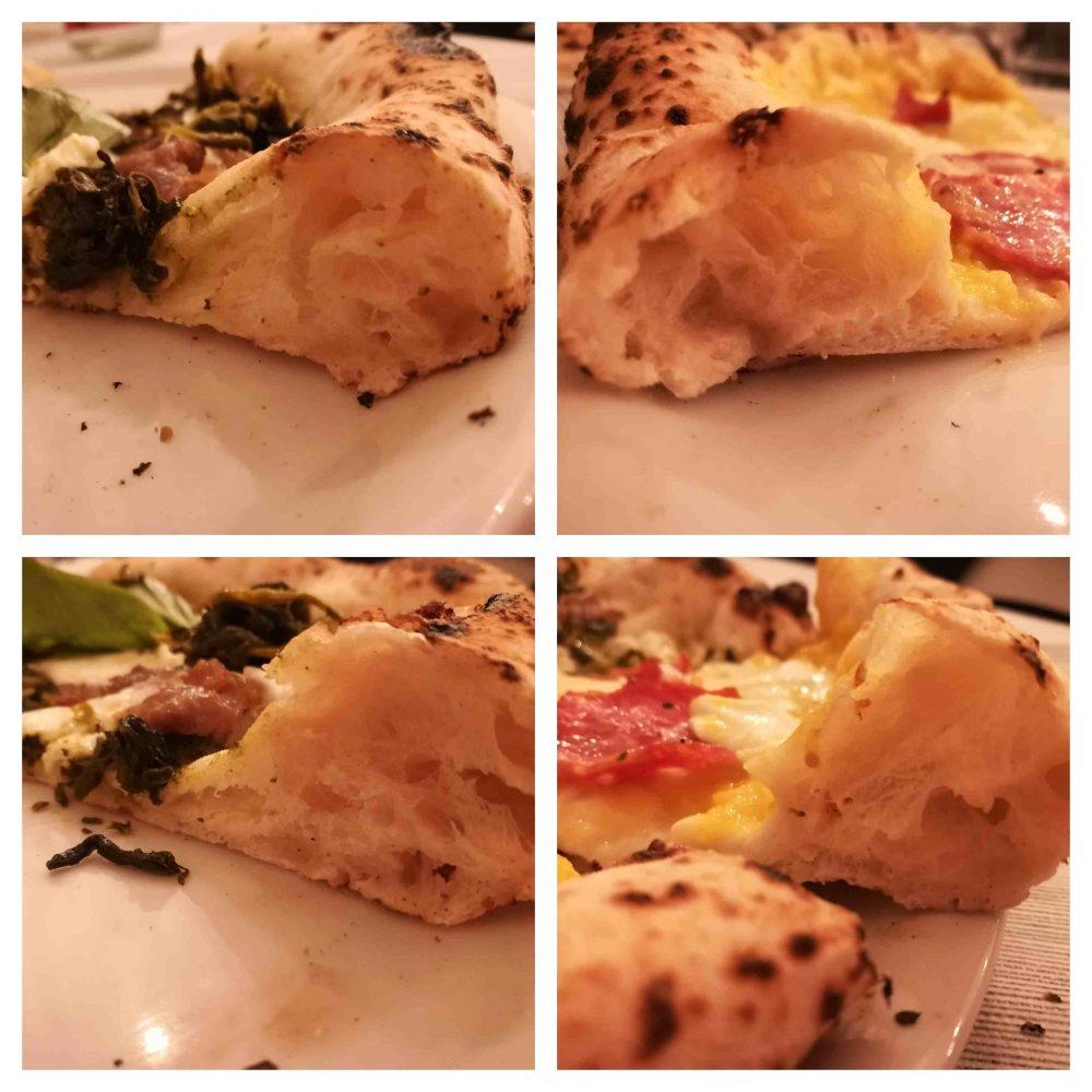 Pizzeria Quattrocento Gradi - i cornicioni