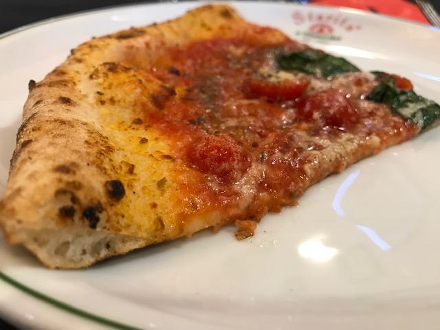 Pizzeria Starita a Materdei - Sezione della pizza