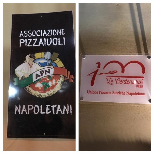 Pizzeria Starita a Materdei - targhe