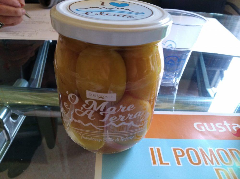 Pomodorini gialli di Rofrano in vasetto