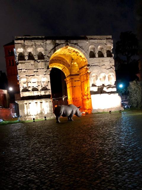 Roma l'Arco di Giano