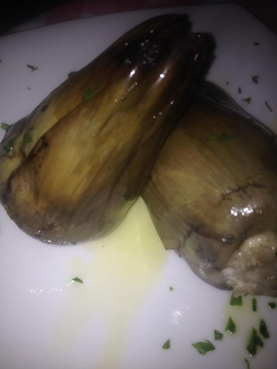Taverna 'e Mast' Aniello - carciofi