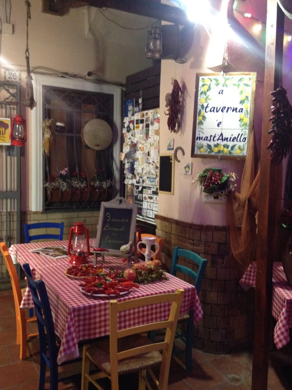 Taverna 'e Mast' Aniello - ingresso