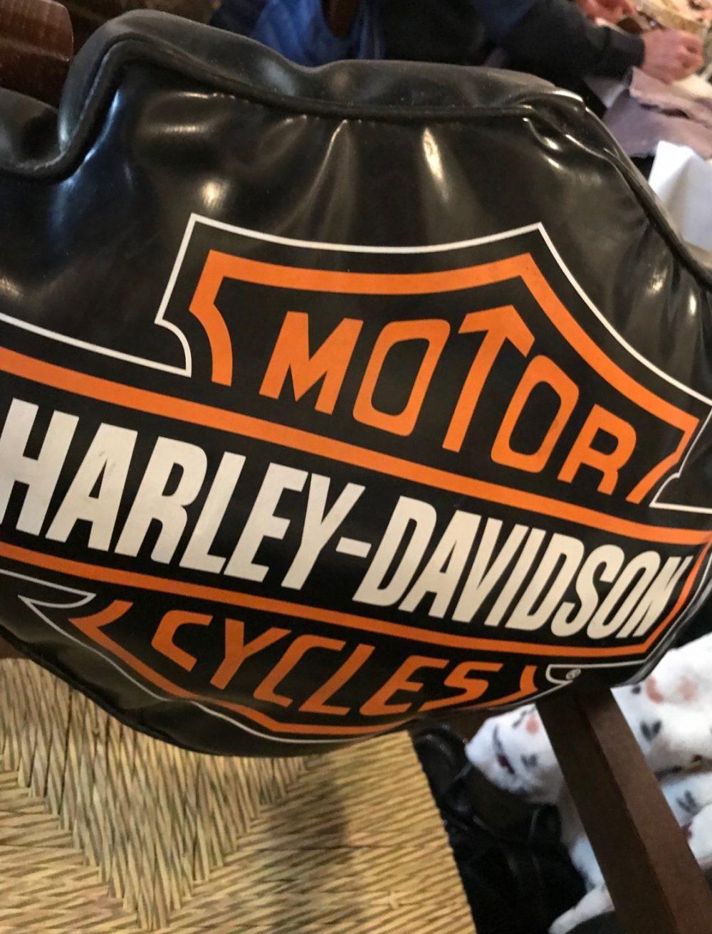 Taverna dei Viandanti, il seggiolone Harley-Davidson