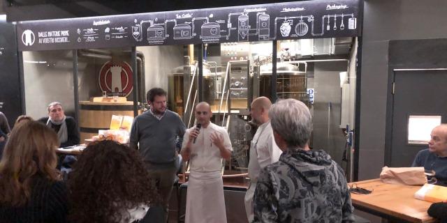 Un momento della presentazione con Luca Pezzetta e Tommaso Pennestri