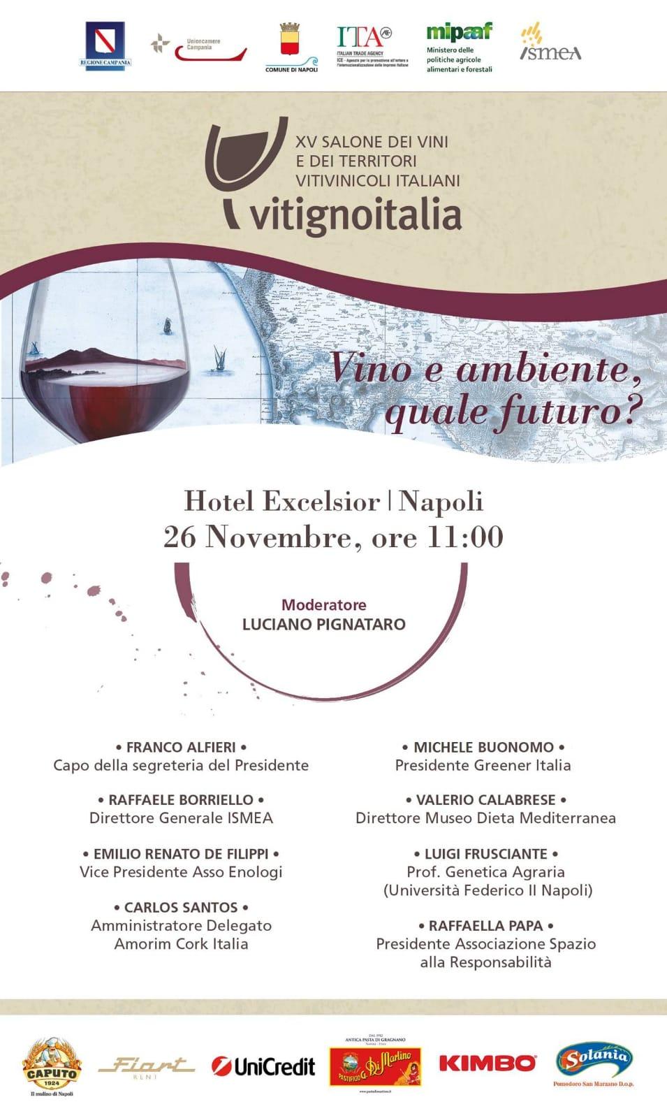Anteprima Vitigno Italia, 26 novembre