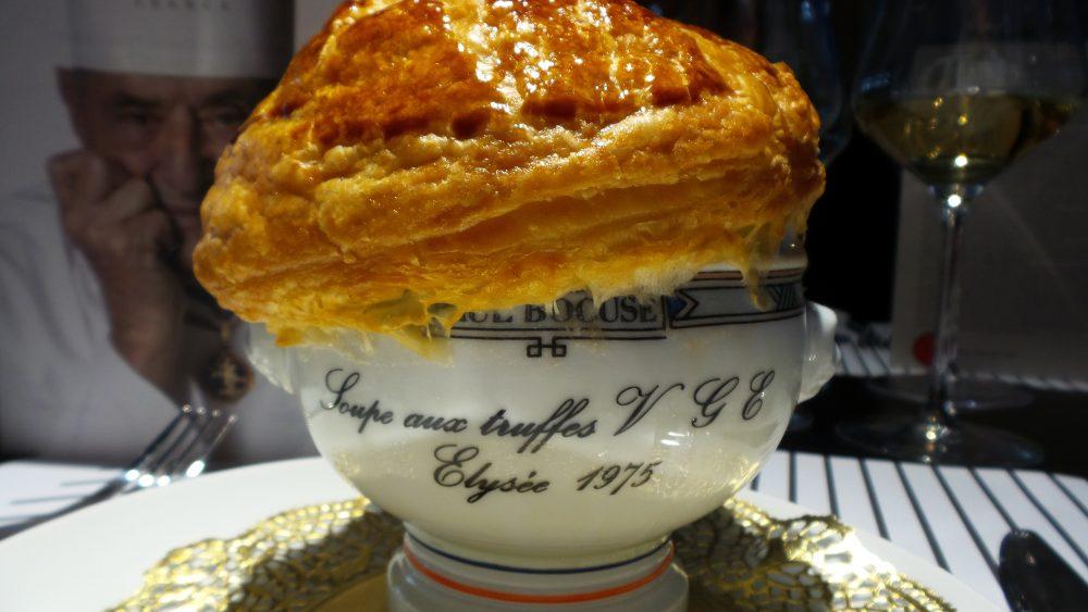 Zuppa di tartufo di Paul Bocuse