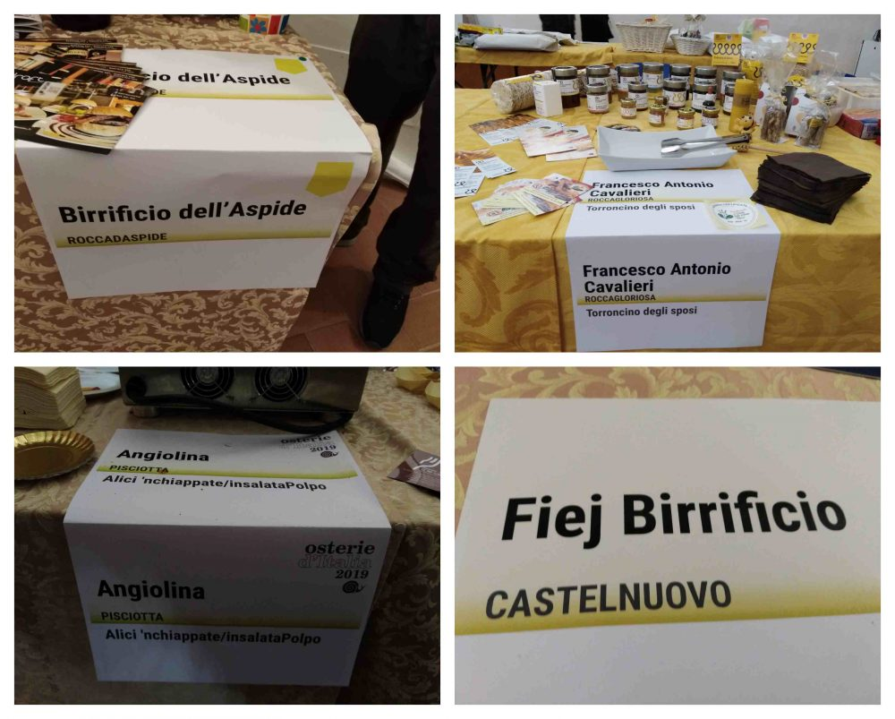 Festa in Condotta Slow Food Gelbison a Vallo