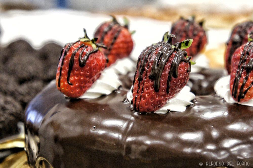 Dettaglio torta senza glutine