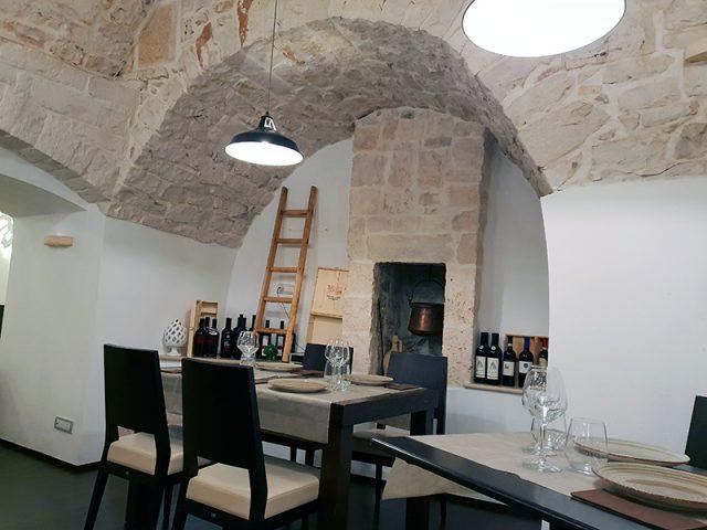 Locanda Romanelli - particolare della sala