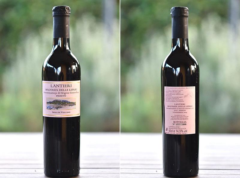 Malvasia delle Lipati, passito 2009 Lantieri
