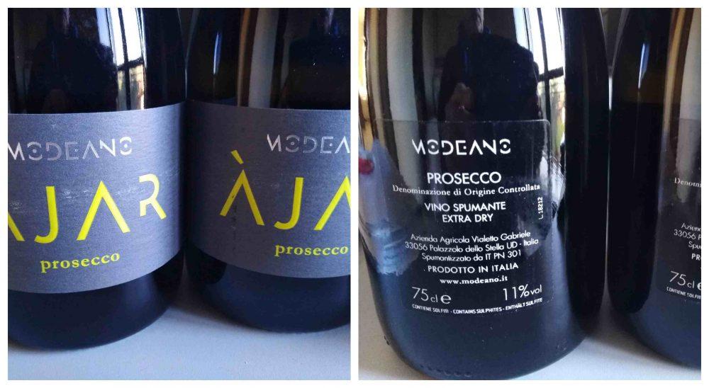Prosecco Doc Ajar Extra Dry Modeano