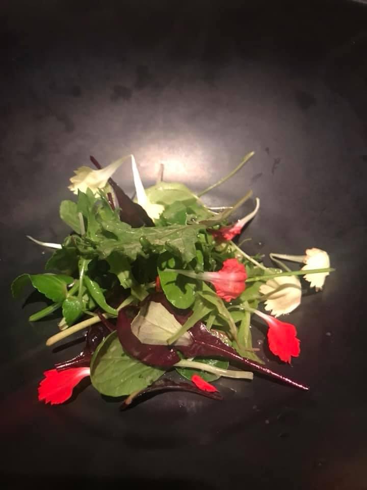 Grand Hotel Parkers. Natura, secondo servizio con erbe e verdure cotte, crude, marinate e conservate