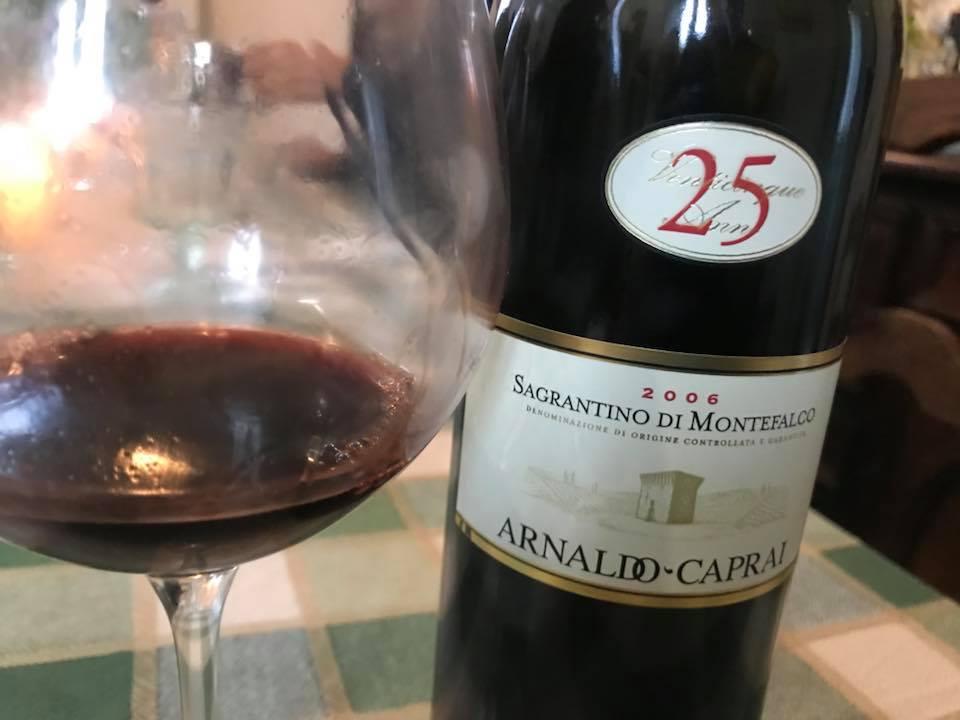 25 anni Sagrantino di Montefalco 2006 Caprai