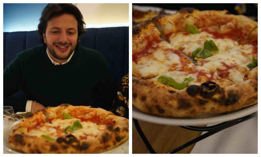 Pizza Margherita fiordilatte, Giovanni Amodio