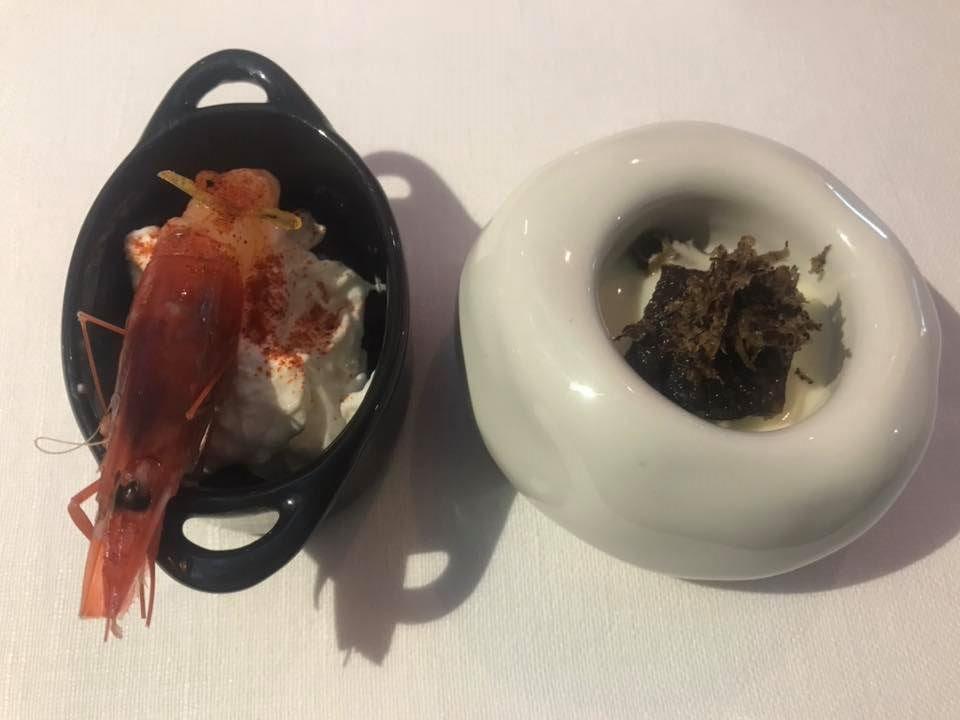 Massimo Carleo Home Restaurant, benvenuto di terra e di mare