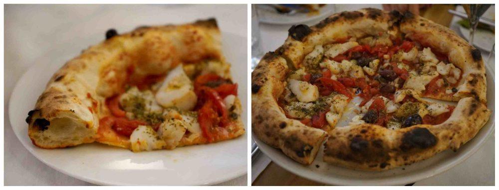 Pizza baccala, Pignalosa Salerno