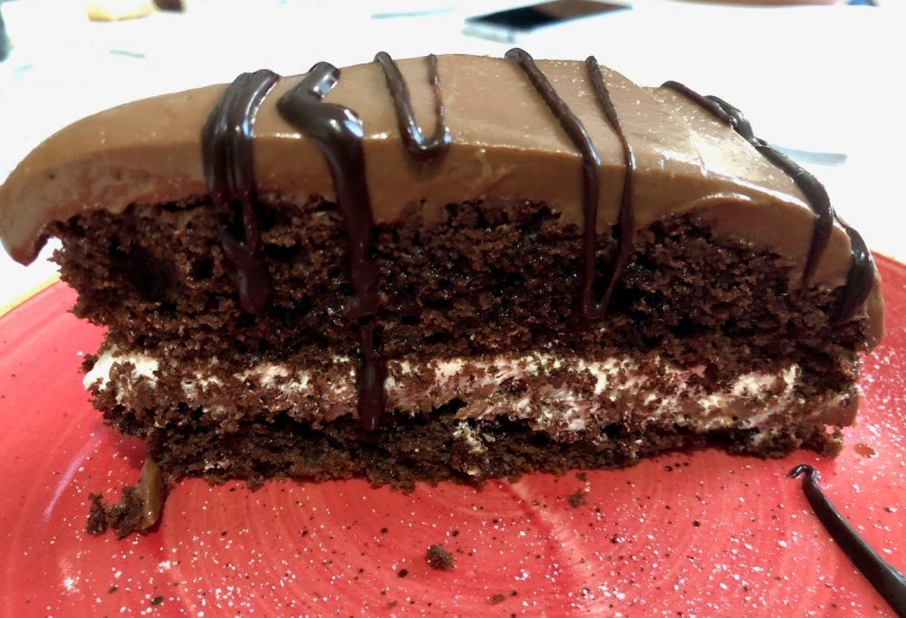 Agriturismo il Raduno, Tramonti, torta al cioccolato
