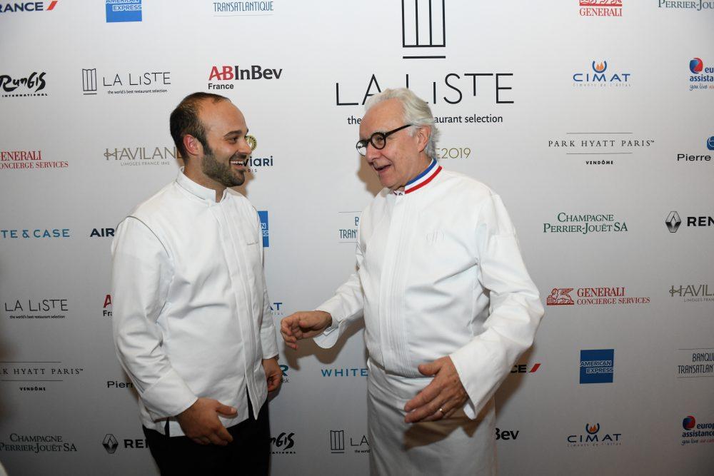 Alessandro Tormolino - Tormolino con Alain Ducasse