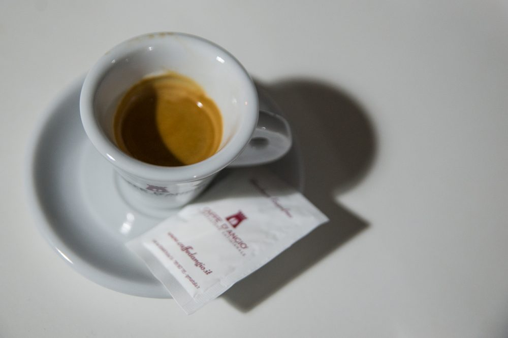 Caffe' D'Angio' Torrefazione. Caffe' espresso