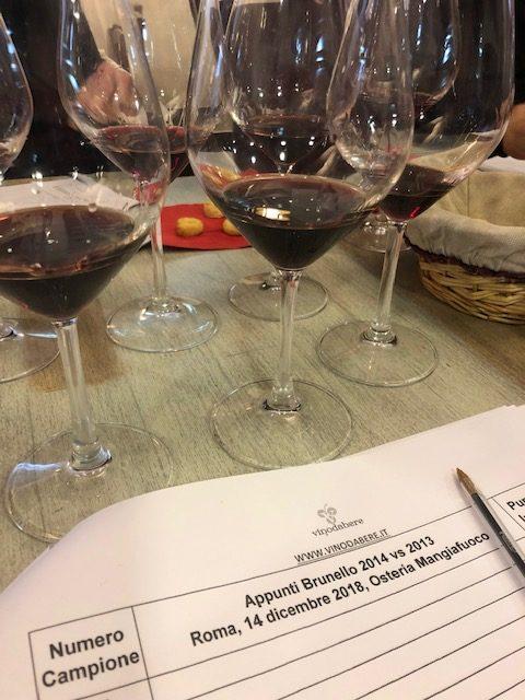Degustazione di Brunello di Montalcino - Roma dicembre 2018