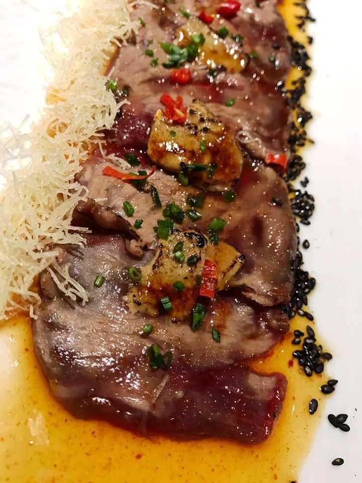 Jap-One - Carpaccio di Wagyu e Foie Gras