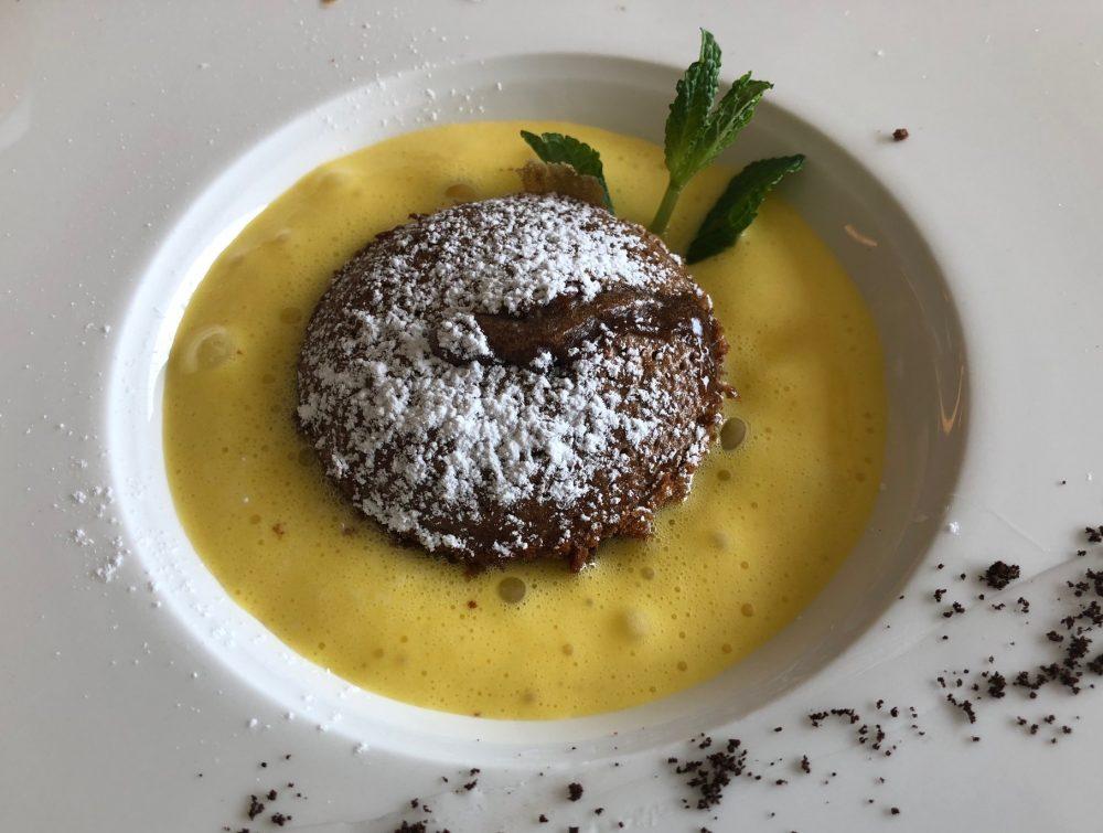Florian Maison, San Paolo d'Argon, tortino al caffe', zabajone alla sambuca