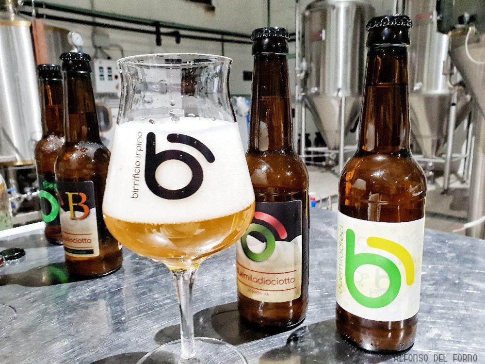 Le birre in degustazione