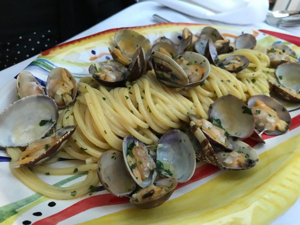 Made in Sud, Aicurzio, spaghetti di Gragnano con vongole veraci